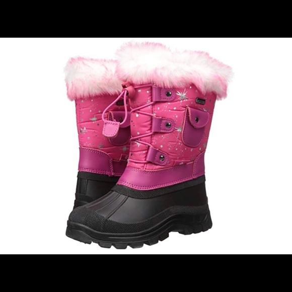 bfa0964f9cf4 Dream Pairs Other - Girls KSNOW Insulated Waterproof Snow Boots